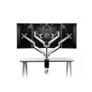Loctek Premier Series 4-arm 10 to 27-inch Computer Monitor Desk Mount