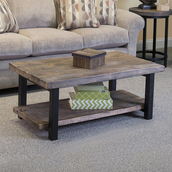 Alaterre Pomona Rustic Natural Coffee Table - Overstock Shopping - Great Deals on Coffee, Sofa ...