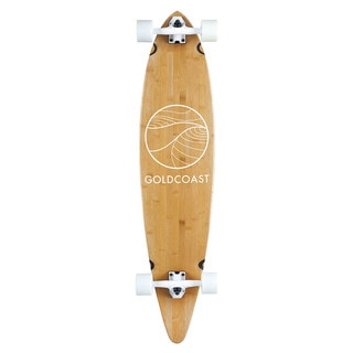 GoldCoast Classic Bamboo Pintail Complete Longboard