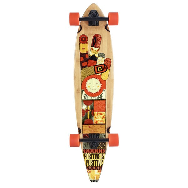 GoldCoast Origin Pintail Complete Longboard