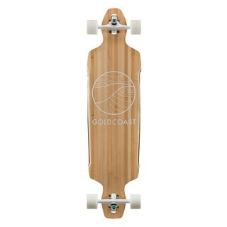 GoldCoast Classic Bamboo Drop Through Complete Longboard