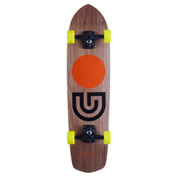 GoldCoast Slap Stick Walnut Complete Cruiser
