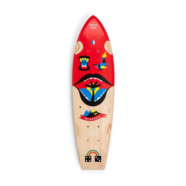 GoldCoast Waterhed Cruiser Skateboard Deck