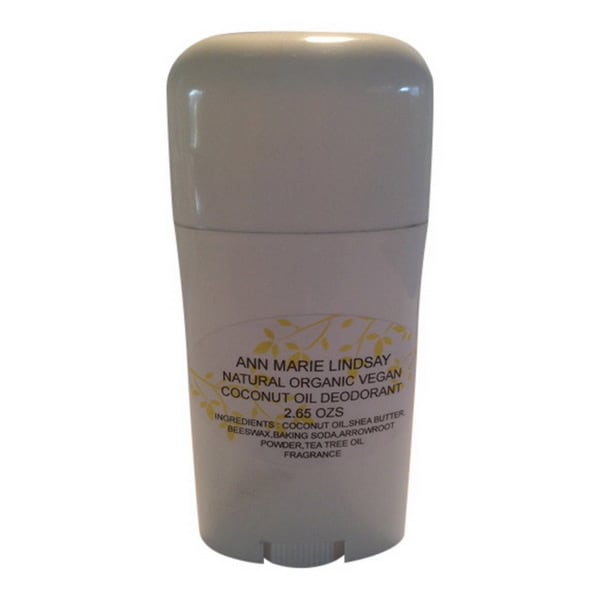 Natural Organic Coconut Oil Deodorant