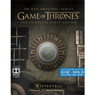 Game of Thrones: The Complete First Season (Steelbook) (Blu-ray Disc)