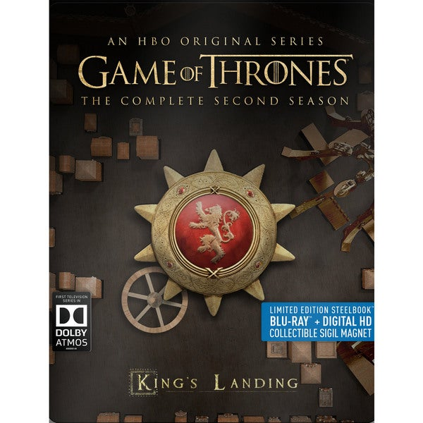 Game of Thrones: The Complete Second Season (Steelbook) (Blu-ray Disc) 15955941
