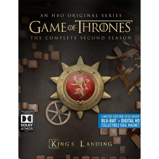 Game of Thrones: The Complete Second Season (Steelbook) (Blu-ray Disc)