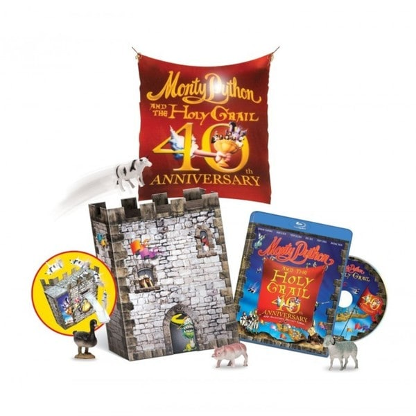 Monty Python And The Holy Grail Castle Catapult Gift Set (40th Anniversary Edition) (Blu-ray Disc) 15955986