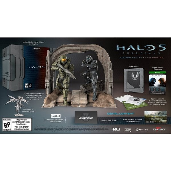 Xbox One - Halo 5: Guardians Limited Collector's Edition 15956024
