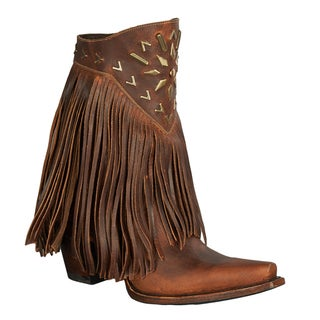 "Lane Boots ""Fringe It"" Women's Leather Cowboy Boot"