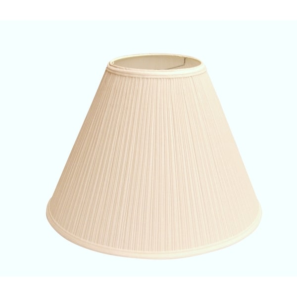 crown lighting 12 5 inch high bright white pleated empire. Black Bedroom Furniture Sets. Home Design Ideas