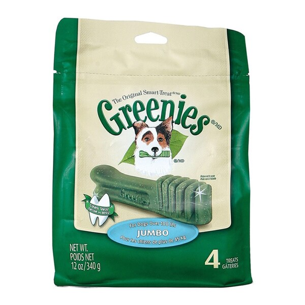 Greenies Jumbo Dental Treat for Dogs