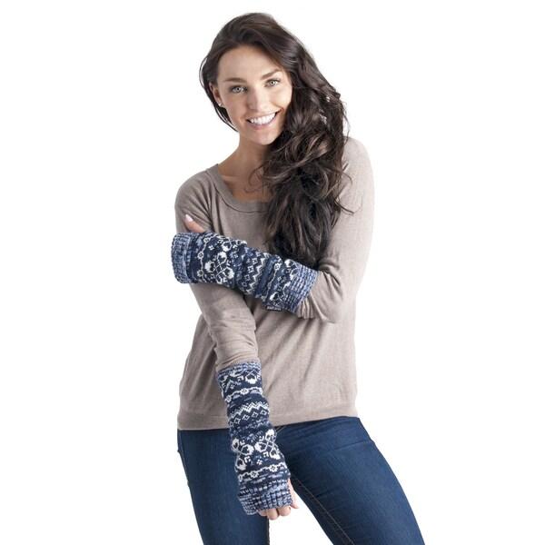 Women's Fairisle Armwarmers
