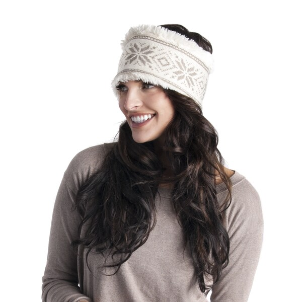 Women's Snowflake Nordic Headband