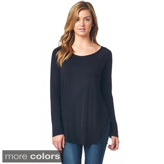 Popana Scoop Neck Tunic Top