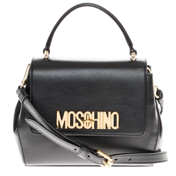 Moschino Mini Leather Backpack