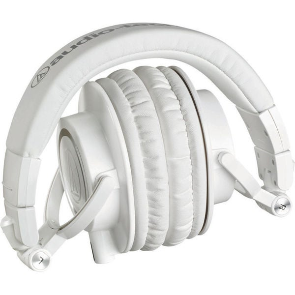 Audio Technica ATH-M50x White Over-ear Monitor Headphones