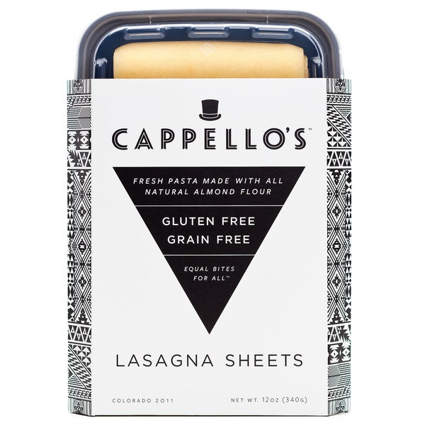 Cappello's Grain-free Lasagna Sheets (Pack of 4)