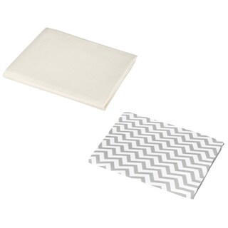 American Baby Company 100-percent Cotton Percale Portable Mini Crib Sheet