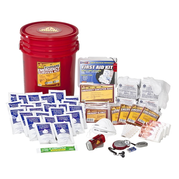 4-person Standard Home Survival Kit
