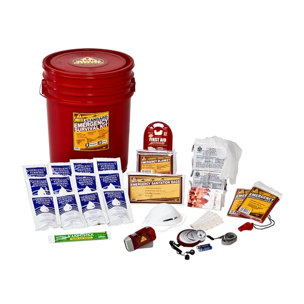 2-person Standard Home Survival Kit