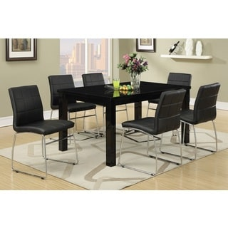 'Destin' Leather Dining Chairs (Set of 6)