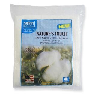 Pellon Nature's Touch White Cotton Batting