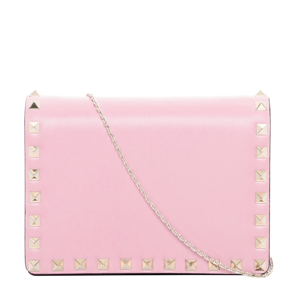 Valentino Rockstud Small Shoulder Bag Pink