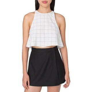 American Apparel Micro-poly Cheerleader Wrap Skirt