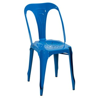 Kinsey Blue Steel Chair (India)