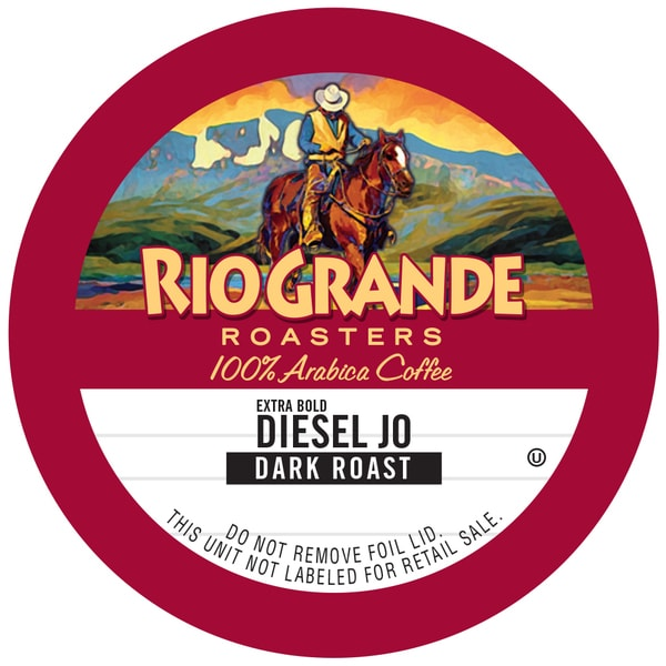 "Rio Grande Roasters ""Diesel Jo"" Single Serve Coffee K Cups"