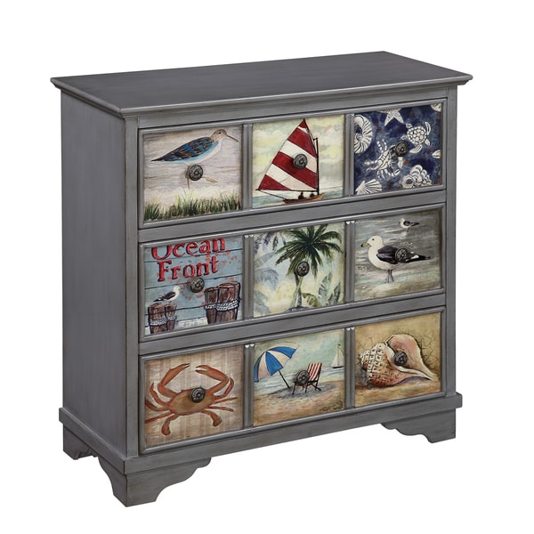 Christopher Knight Home Coastal Three Drawer Chest