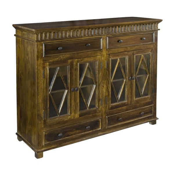 Christopher Knight Home Mango Four Door Four Drawer Sideboard