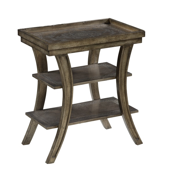 Christopher Knight Home Silver 3 Tier Accent Table