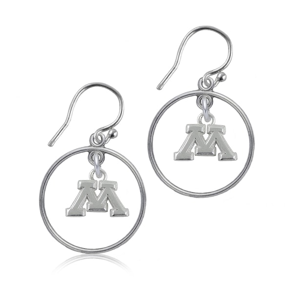 Minnesota Sterling Silver Open Drop Earring