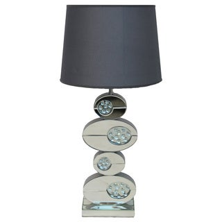 Danny 32-inch Artistic Ovals Mirror Table Lamp