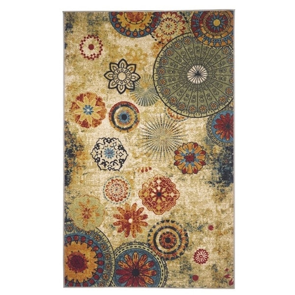 Medallion Multicolor Area Rug (8' x 10')