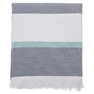 Marina 59-inch Turkish Cotton Deck Beach Towel