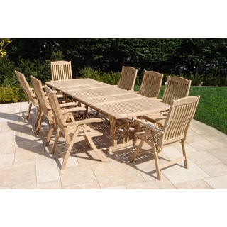 Roble Wood 9-piece Dining Set