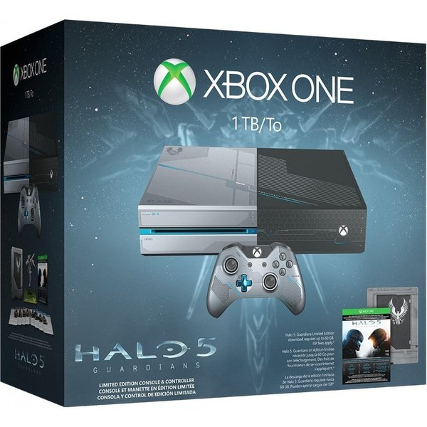 Microsoft Xbox One 1TB Limited Edition Halo 5: Guardians Bundle 15960777