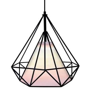 Hedron Geometric Diamond Ceiling Lamp
