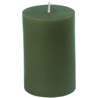 Small 3-inch Unscented Pillar Candle (Pack of 24)