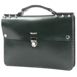Marcellino NY Dark Green Small Briefcase
