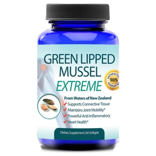 New Zealand Green Lipped Mussel Joint Health and Arthritis Care (60 Capsules)