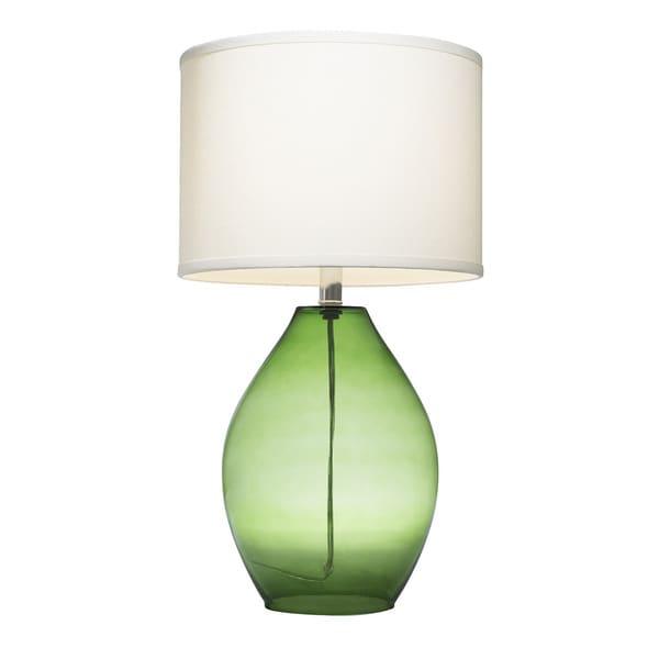 Kichler Lighting 1 Light Green Glass Table Lamp 17516310