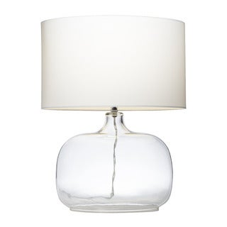 Kichler Lighting 1-light Clear Glass Table Lamp