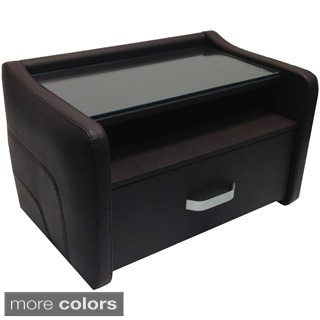 SOLE Collection Eco-leather Nightstand by Casabianca Home