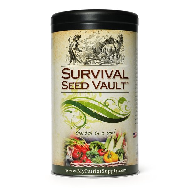 Augason Farms Heirloom Emergency Survival Seeds by My Patriot Supply