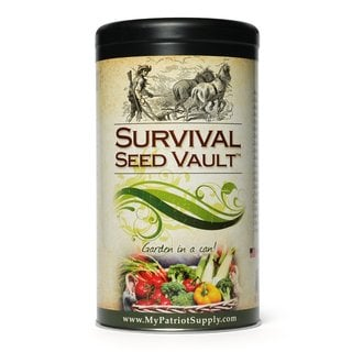 Augason Farms Emergency Heirloom Survival Seed Vault by My Patriot Supply