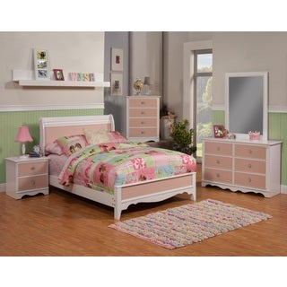 Sandberg Furniture Sabrina 4-piece Sleigh Bedroom Set